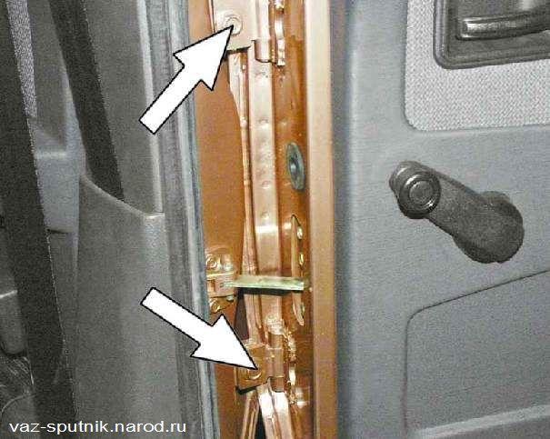 Фото №27 - замена петли двери ВАЗ 2110